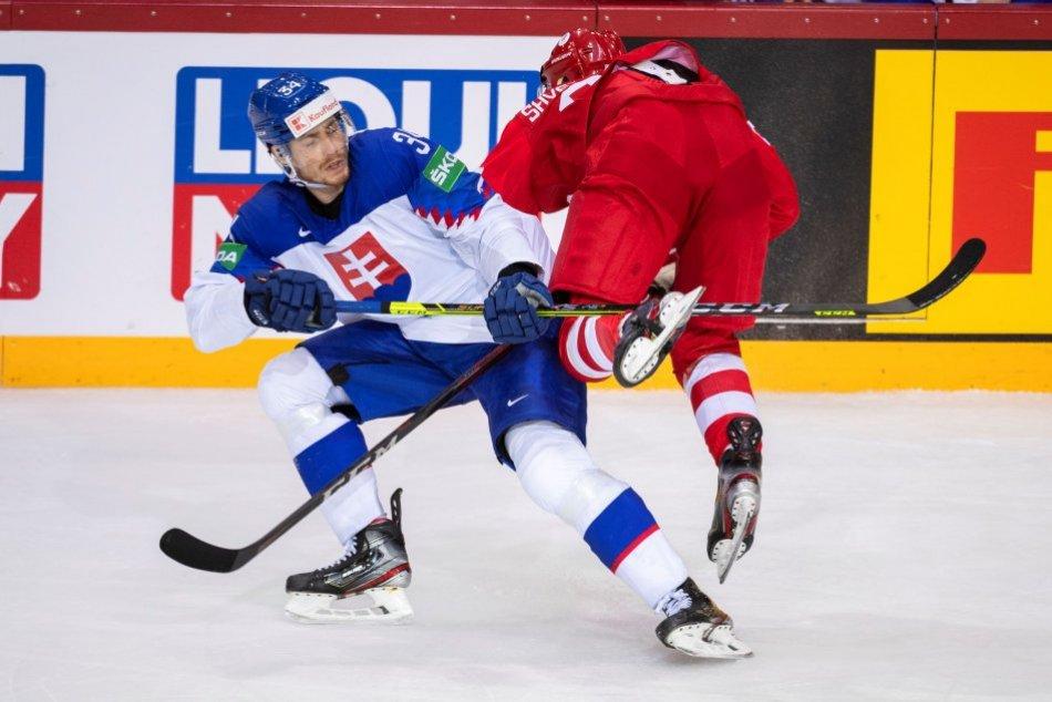 Slovensko - Rusko na MS v hokeji