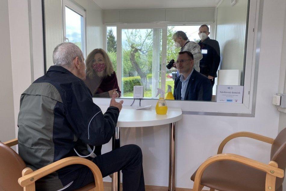 Objektívom: Na Cemjate vznikol pre seniorov návštevný domček