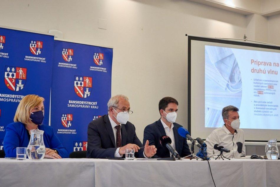 V OBRAZOCH: Banskobystrická župa spravila odpočet pandémie