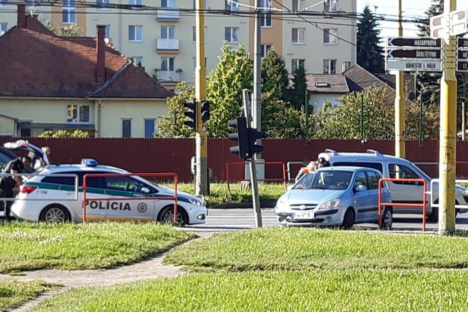 Objektívom: Nehoda na Škultétyho v Prešove