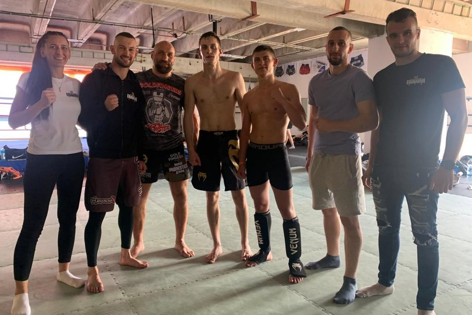 V OBRAZOCH: Richard Kessel z bystrického Erawan gymu s MMA úspechom