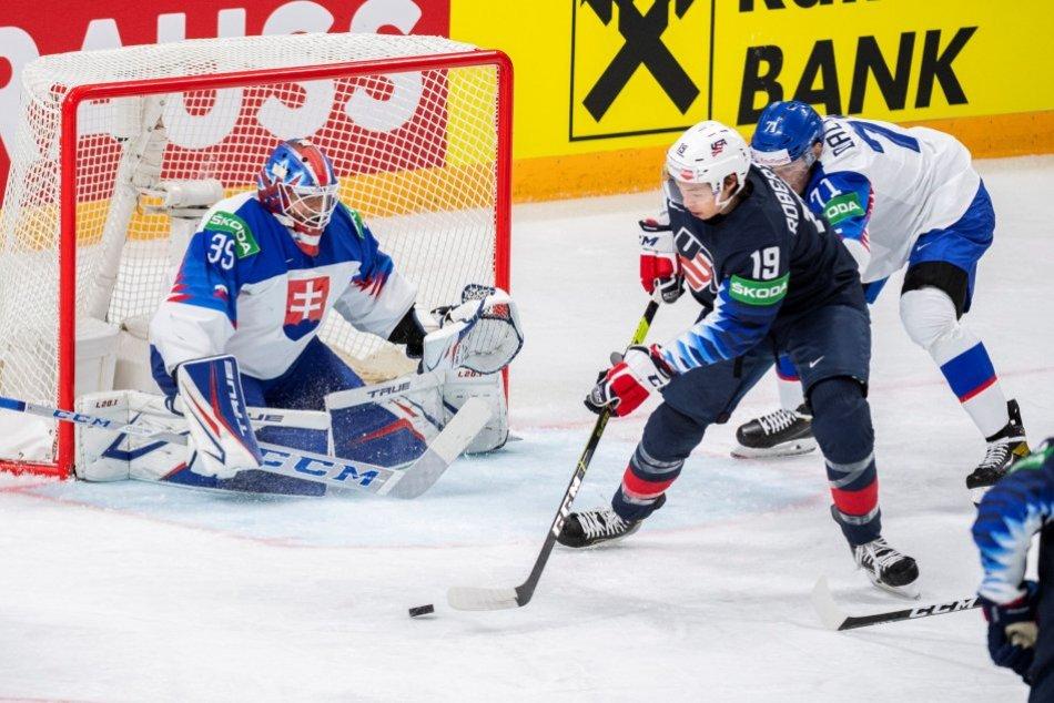 Slovensko padlo vo štvrťfinále s USA