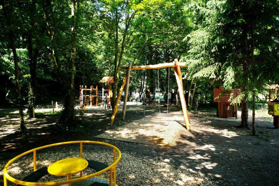 Pruger-Wallnerovu záhrada pri Horskom parku