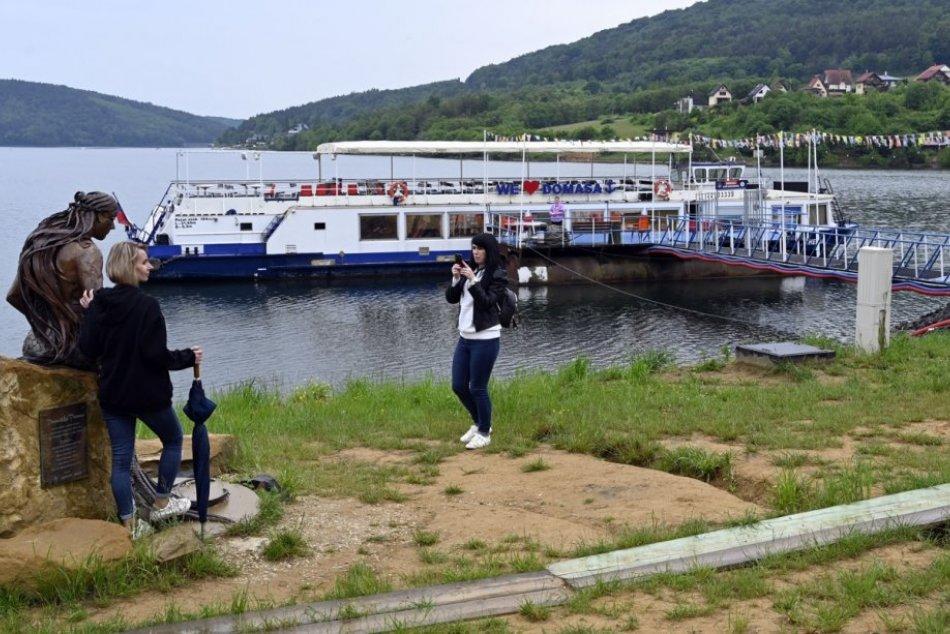 Objektívom: Na Domaši už premáva loď Bohemia