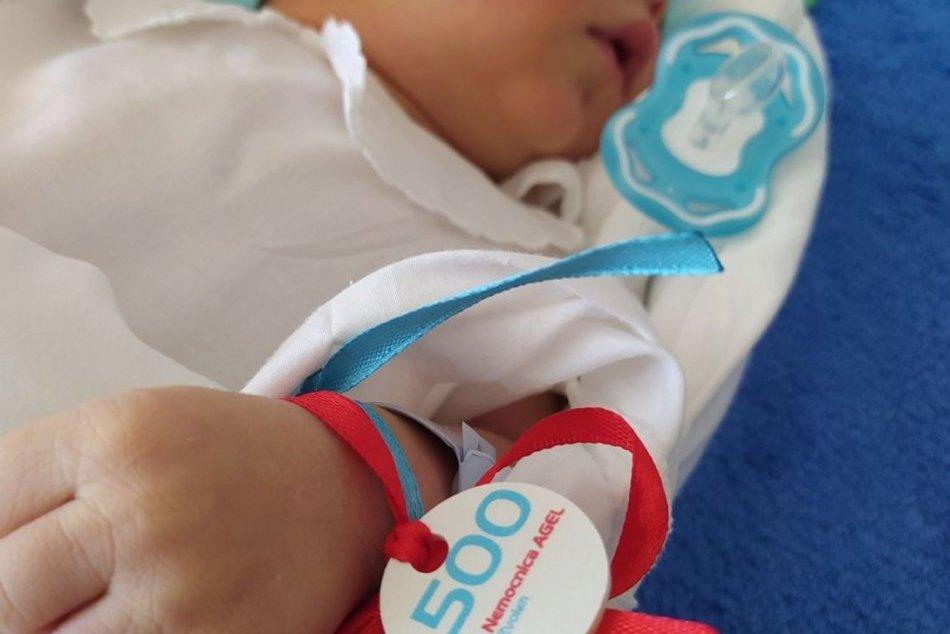 V OBRAZOCH: Vo zvolenskej nemocnici sa narodilo 500. dieťatko v tomto roku