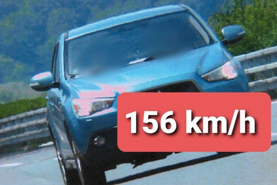 Vodič sa na diaľnici v smere z Nitry do Bystrice neprevinil len rýchlosťou