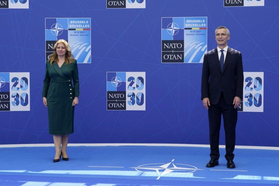 Biden na summite NATO ocenil pokrok Slovenska