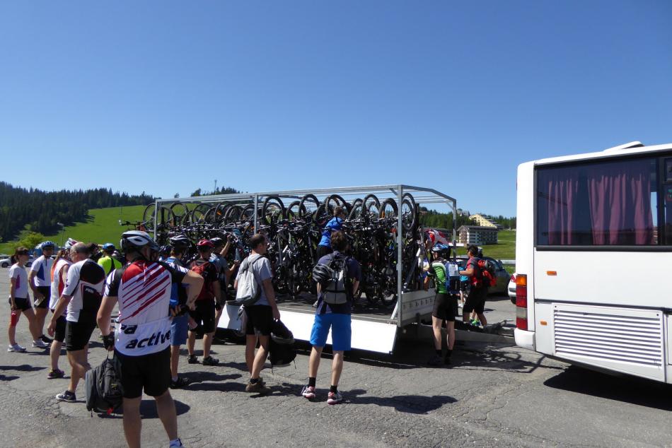 V Banskobystrickom kraji sa môžete vydať za cykloturistikou aj vďaka cyklobusom