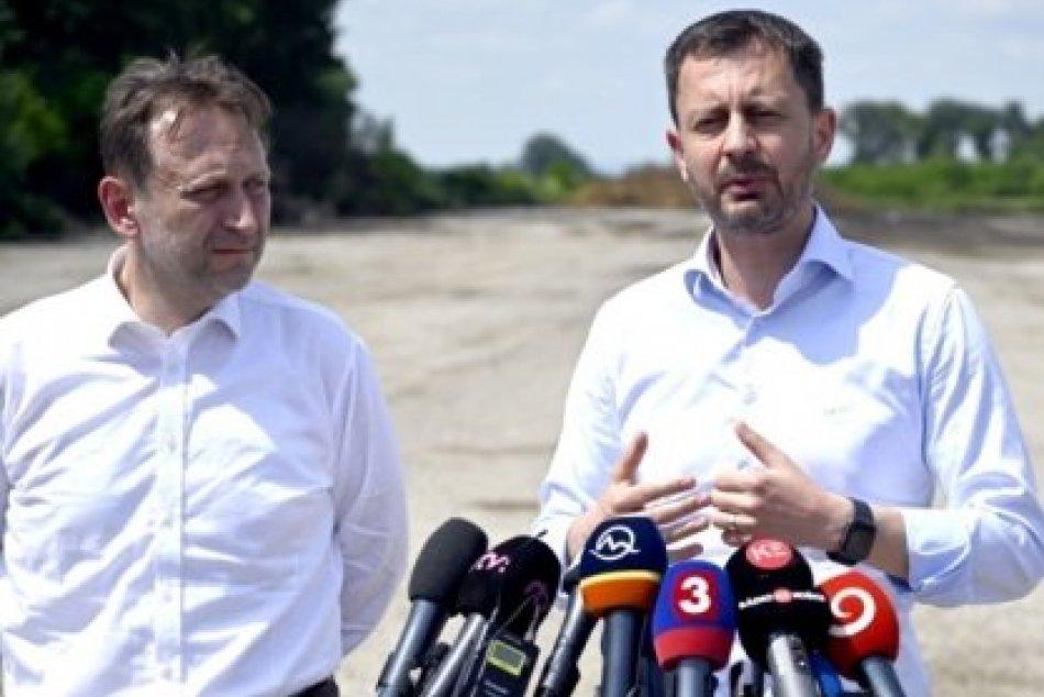 OBRAZOM: Predseda vlády a minister pri obci Trhovište v okrese Michalovce