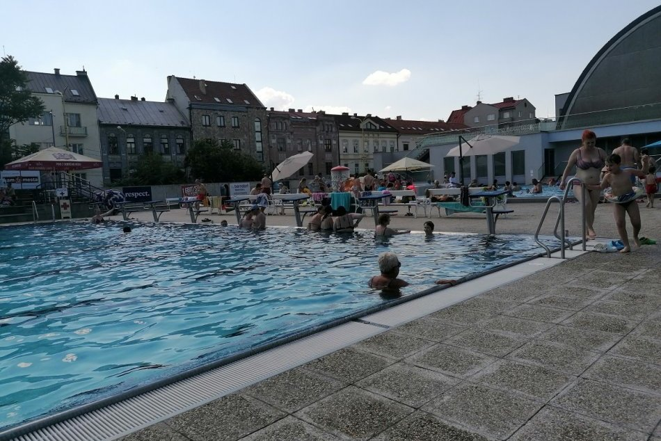 Mestské kúpalisko Rumanová - otvorenie 18. 6. 2021