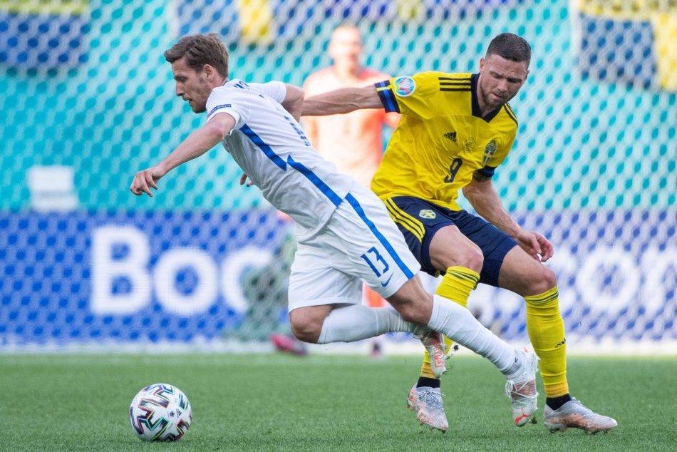 Slovensko - Švédsko, druhý duel našich na EURO 2020