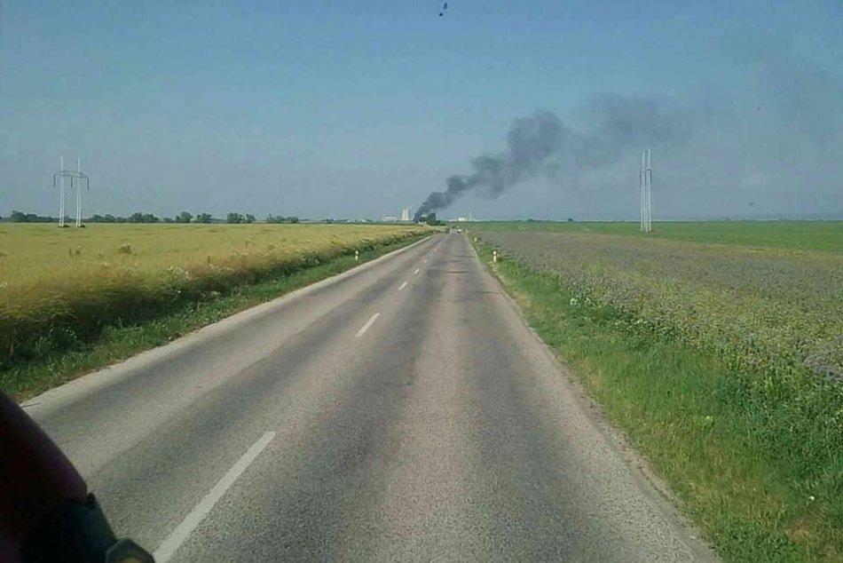 Požiar v Jaslovských Bohuniciach