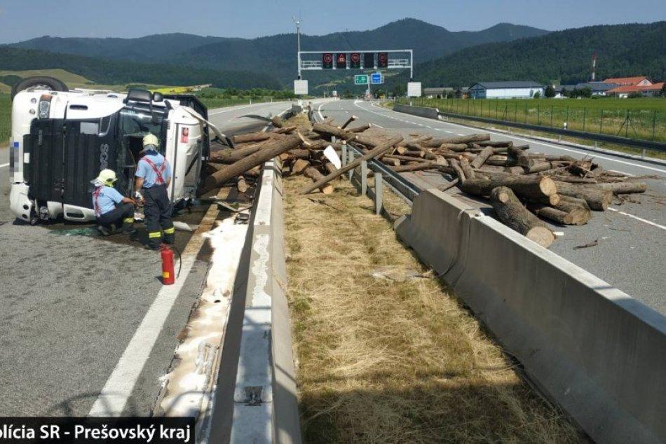 Nehoda na D1: Počítajte s obchádzkou