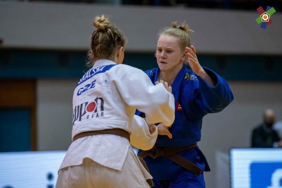 V OBRAZOCH: Džudistka Ema Fízeľová zvíťazila na Európskom pohári dorastencov