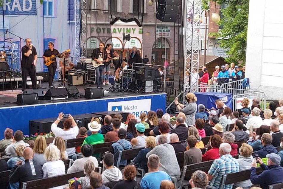 Richard Müller otvoril Popradské kultúrne leto