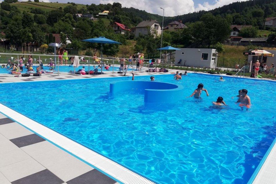 V OBRAZOCH: Obnovené letné kúpalisko v Hriňovej