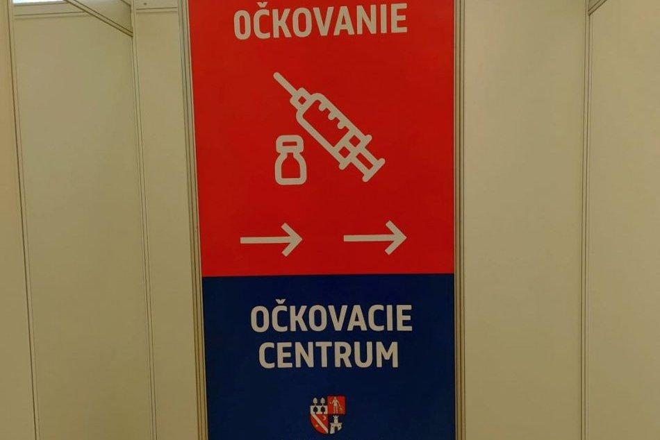 V OBRAZOCH: Očkovacie centrum Doprastav vo Zvolene