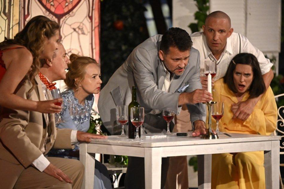 OBRAZOM: Mestské divadlo Trenčín odštartovalo letnú sezónu