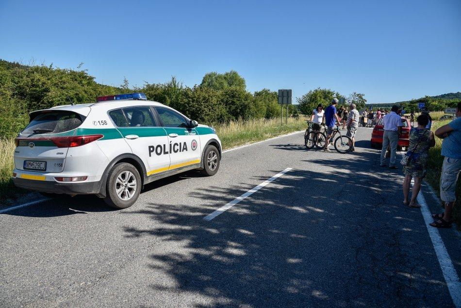 Uzavretý hraničný priechod Vrbovce – Velká nad Veličkou