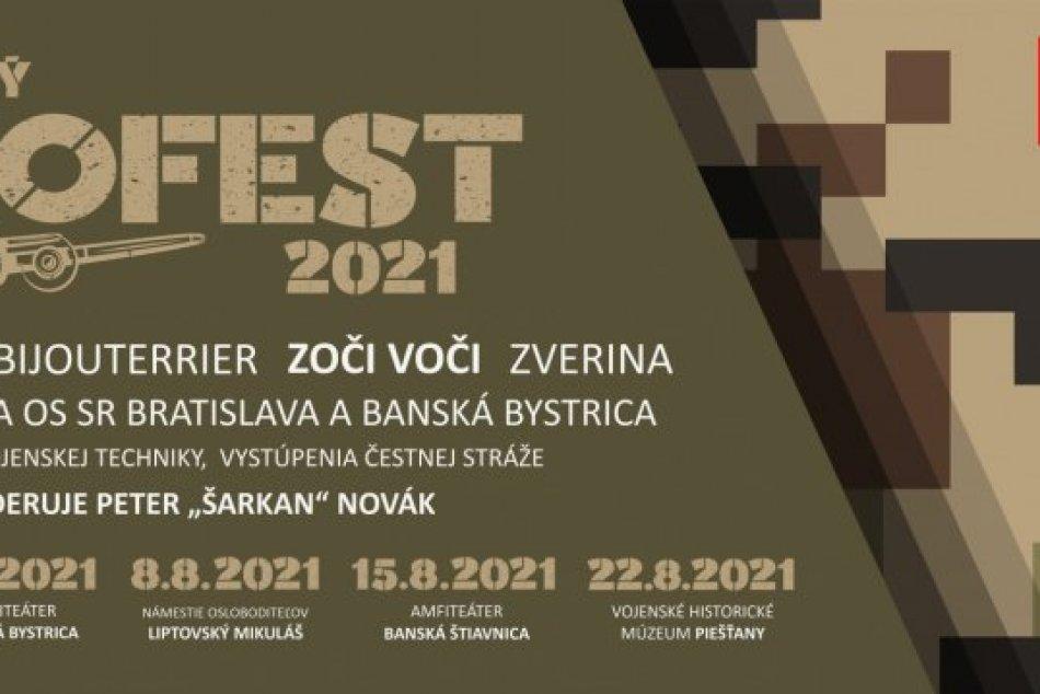 Vojenský festival bude aj na Šírave v rekreačnom stredisku Hôrka