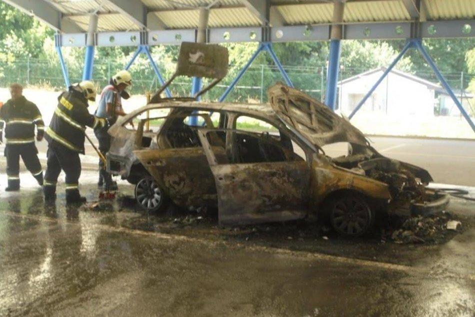 Požiar na hraničnom priechode: Toto spáchal ukrajinský vodič