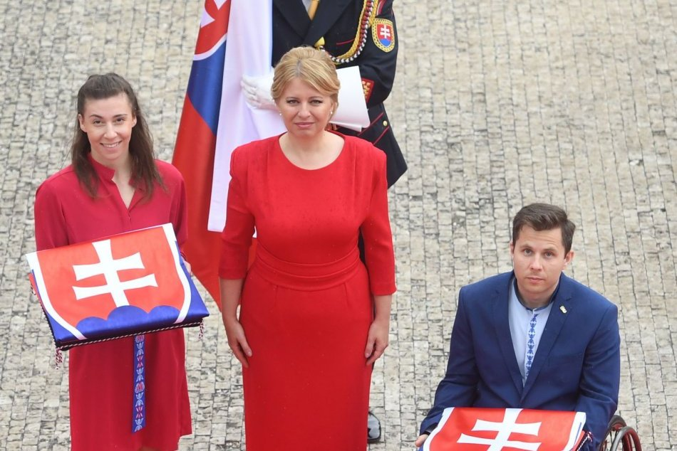 Slávnostný sľub členov slovenskej výpravy na OH 2020 a PH 2020 v Tokiu