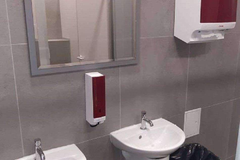 FOTO: Nemocnica v Bánovciach nad Bebravou zrekonštruovala toalety