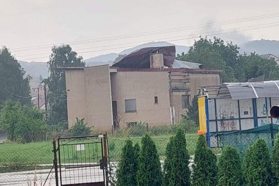 Búrky v Banskobystrickom kraji - 18. júla 2021