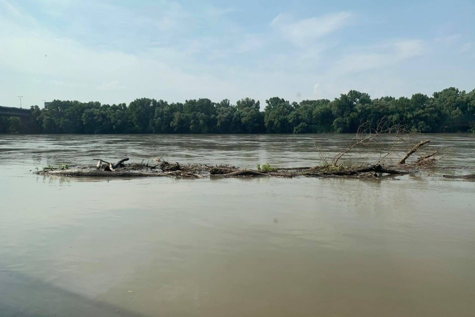 Hladina Dunaja stúpa - 18. júla 2021