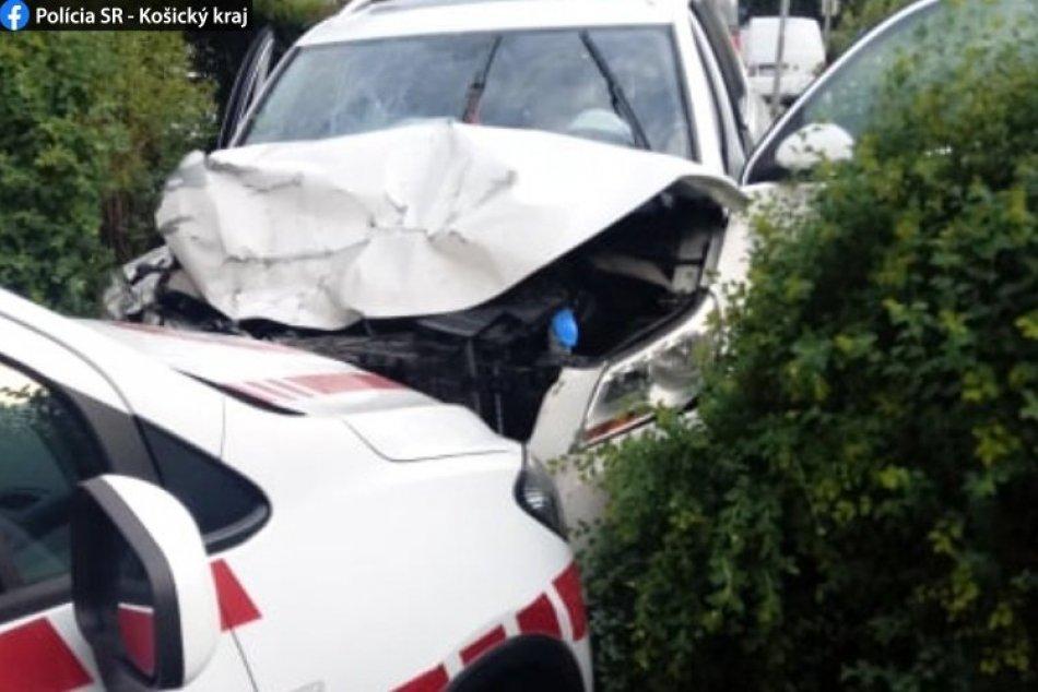 V OBRAZOCH: Pri nehode v Košiciach sa zranili 3 ľudia