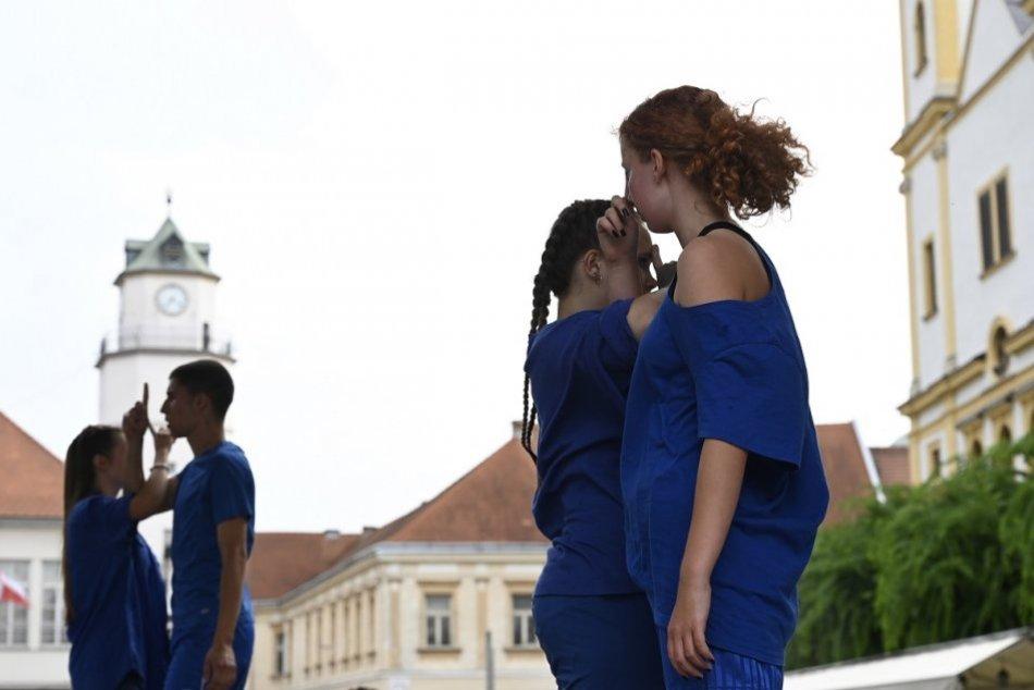 OBRAZOM: Tanečné predstavenie v rámci projektu Teleso v centre Trenčína