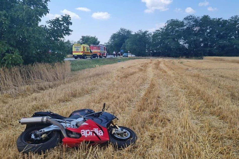 Tragická nehoda motorkára v Nesvadoch