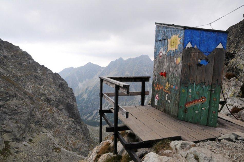 Toaleta s najkrajším panoramatickým výhľadom