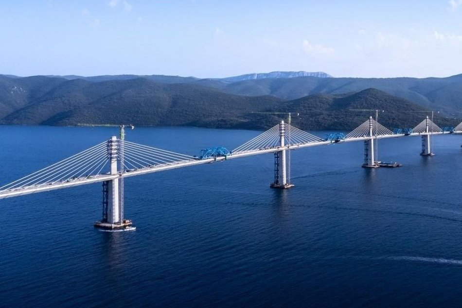 Ako vyzerá Pelješki most v Chorvátsku?