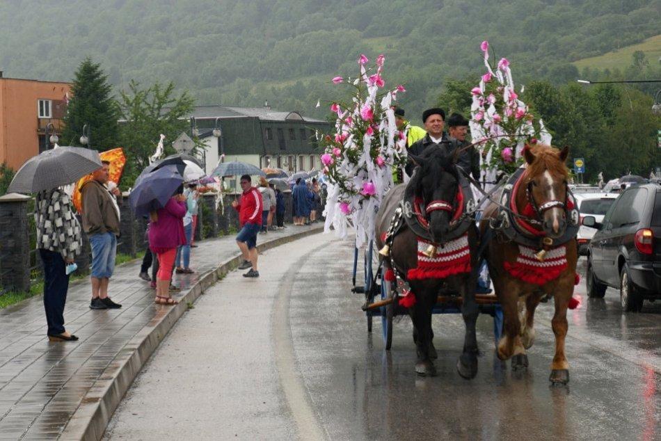 OBRAZOM: 59. ročník folklórneho festivalu Jánošíkove dni v Terchovej