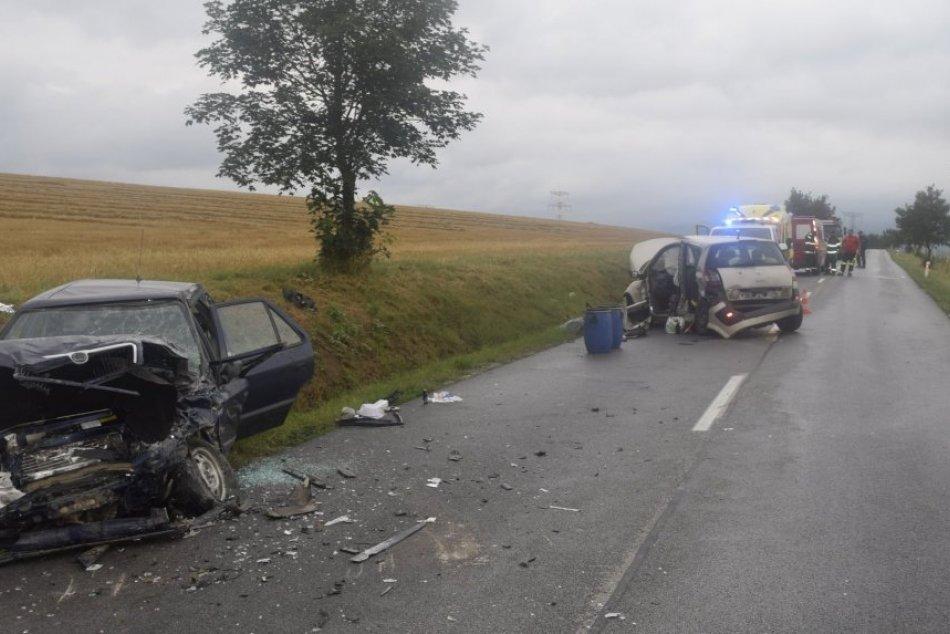 Tragická nehoda medzi obcami  Ludanice a Horné Obdokovce