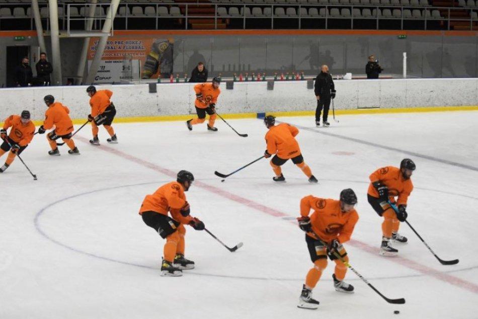 Prvý tréning HC Košice na ľade