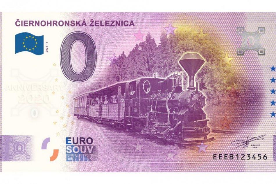 0 Euro Souvenir Čiernohronská železnica