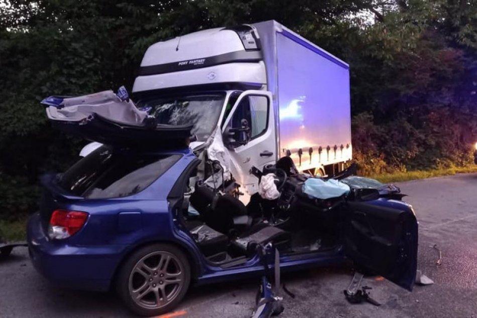 Tragická nehoda v okrese Prešov