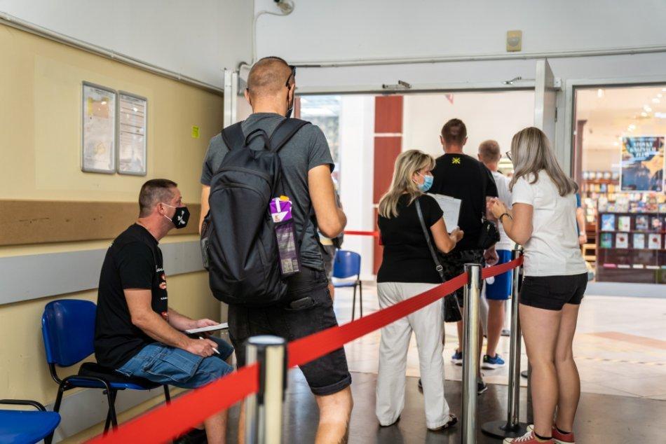 Očkovanie v nákupných centrách v Trnavskom kraji
