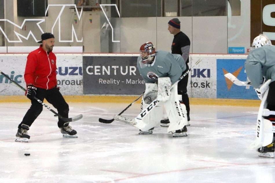 V OBRAZOCH: Prvý tréning hokejistov Banskej Bystrice pred novou sezónou
