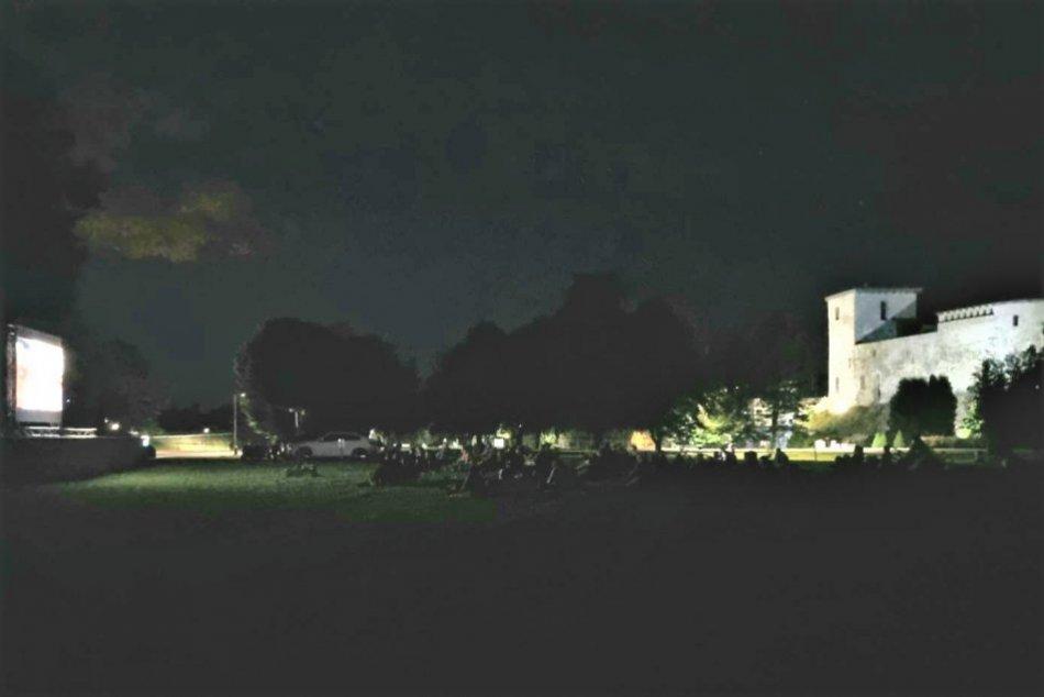 OBRAZOM: Letné kino pod Skalkou v Liptovskom Hrádku zaujalo
