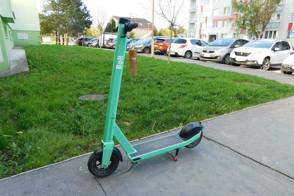 FOTO: Zelené kolobežky v Trnave