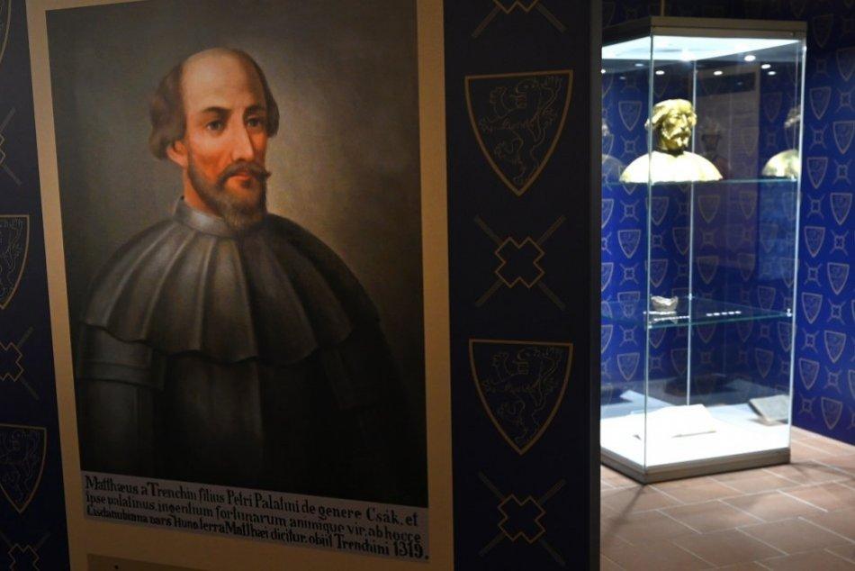 FOTO: Najväčším skvostom expozície na Trenčianskom hrade je herma Matúša Čáka