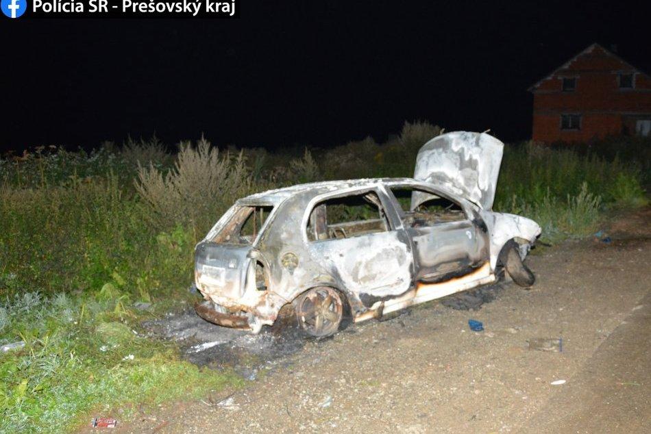 OBRAZOM: Štyri deti podpálili Fábiu, zhorela do tla
