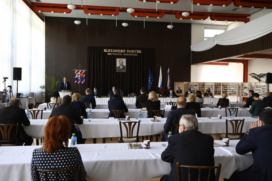 FOTO: Slávnosť pri príležitosti 100. výročie narodenia Alexandra Dubčeka