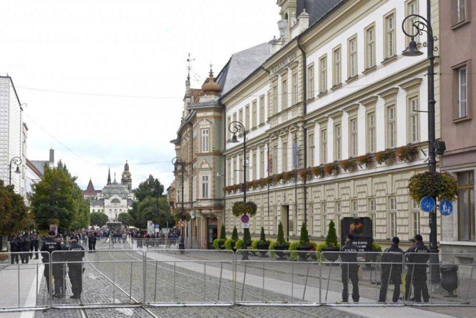 Protestné zhromaždenia v Košiciach
