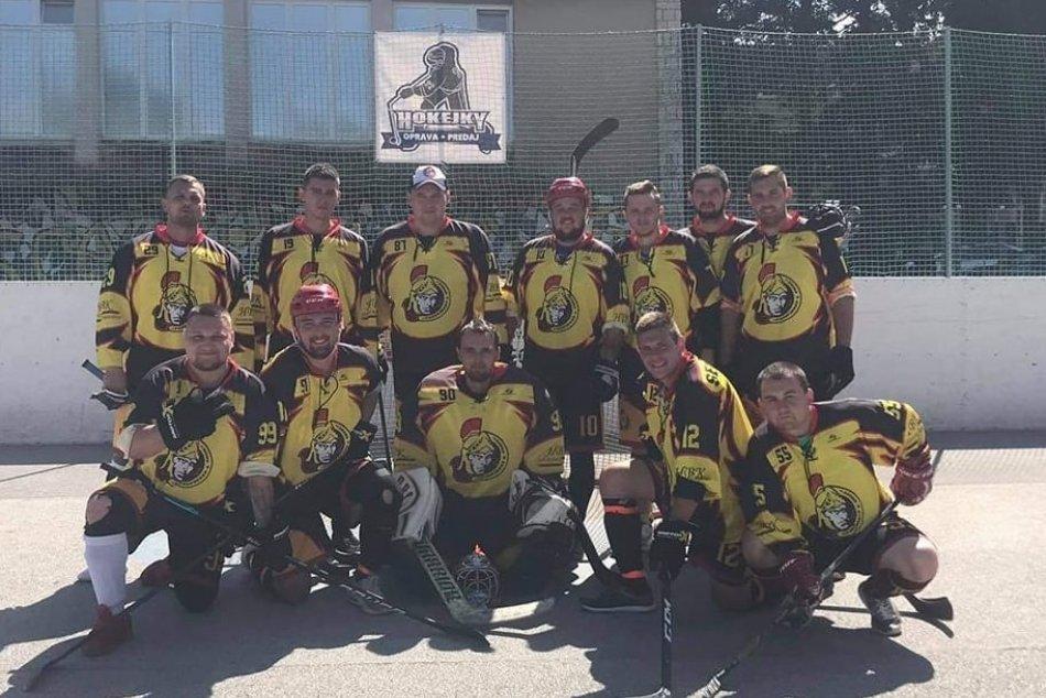 Objektívom: Hokejbalová liga v Prešove pokračuje