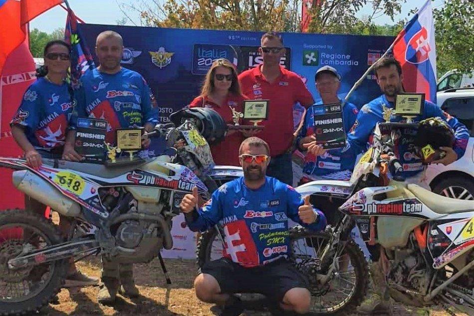 OBRAZOM: PB racing team na šesťdňovej v Taliansku