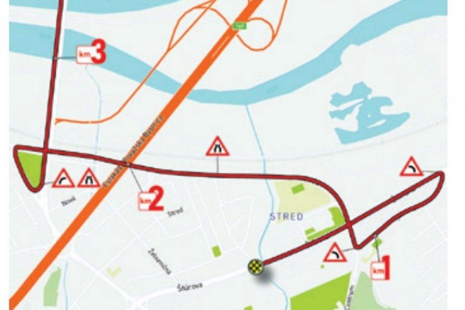 MAPKY 3. etapy pretekov Okolo Slovenska, ktorá vyvrcholí v Považskej Bystrici